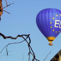 """BREXIT"" - Escaping Hot Air Balloon called EU"