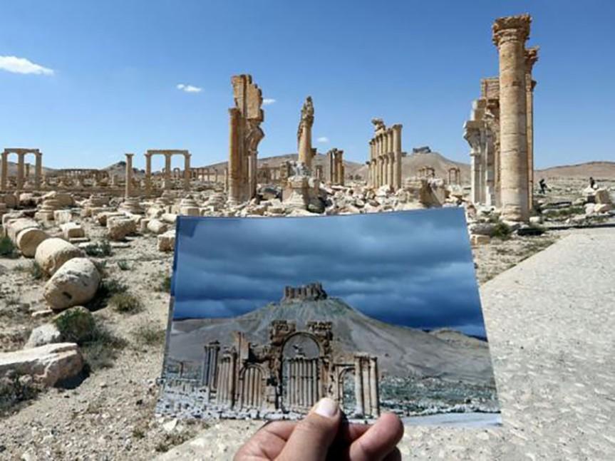 PalmyraArcTriomphe