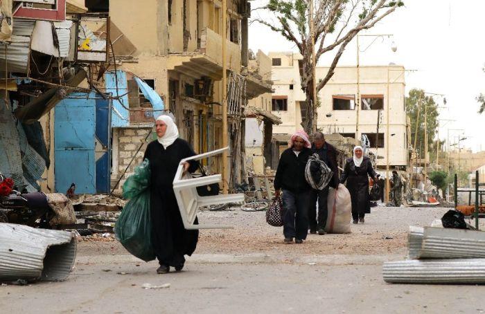 SyriansReturnPalmyra