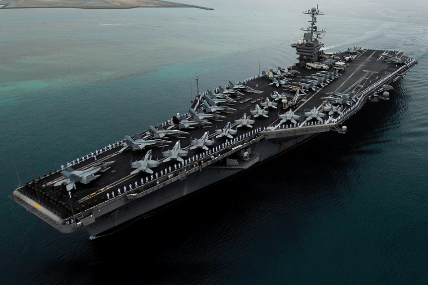 US aircraft carrier denied entry to Hong Kong