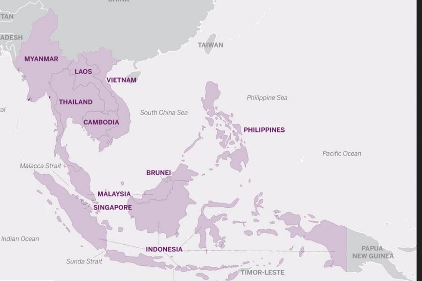 ASEAN - map