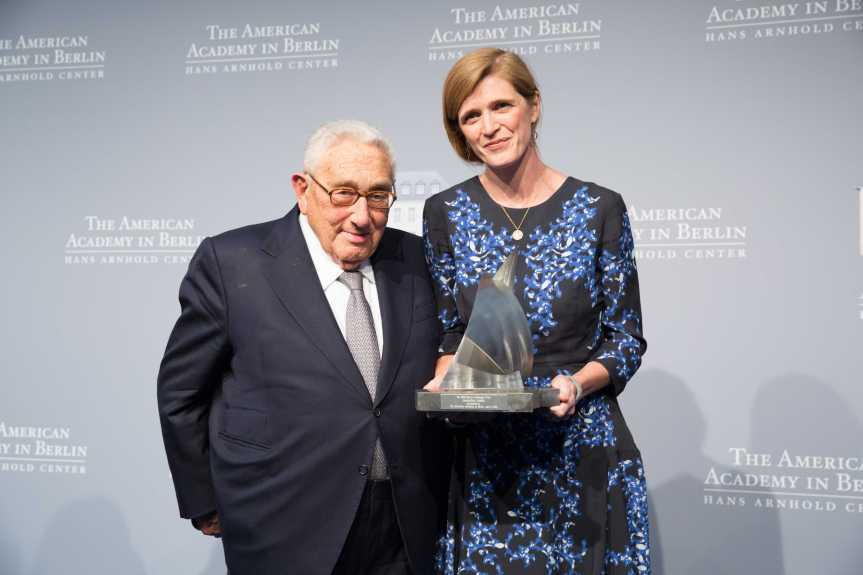 Annette Hornischer / American Academy in Berlin / Kissinger Priz