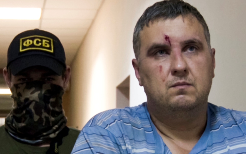 Yevgeny Panov, under arrest
