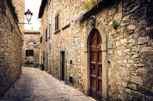 Medieval Borough in Tuscany