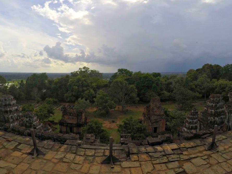 View atop Phnom Bakheng.