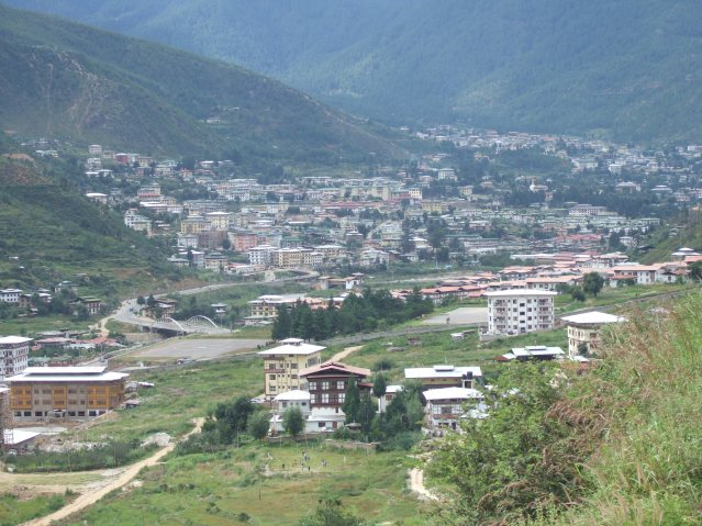 thi Thimphu_from_the_south_080907