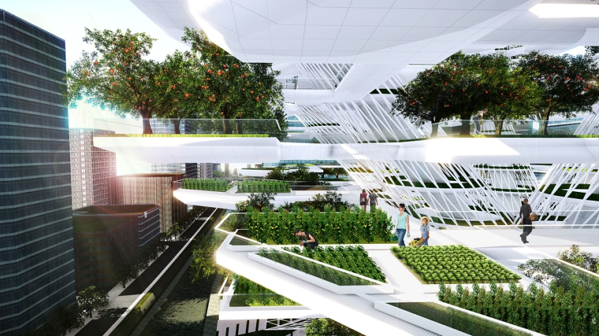 The Future of Agriculture – URBAN SKY-FARM