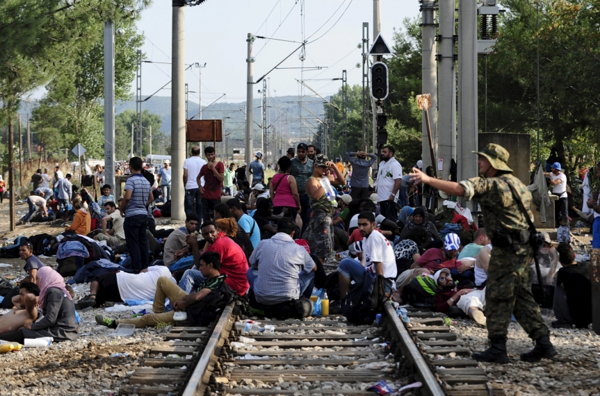 Europe – Migrant Crisis – Migrant Invasion Could Mean War for Greece and Turkey