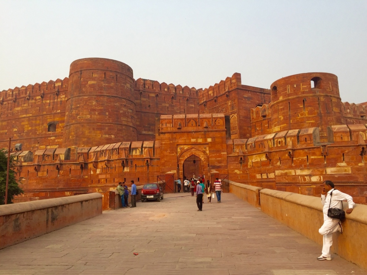 Welcome to Agra! Fort Agra