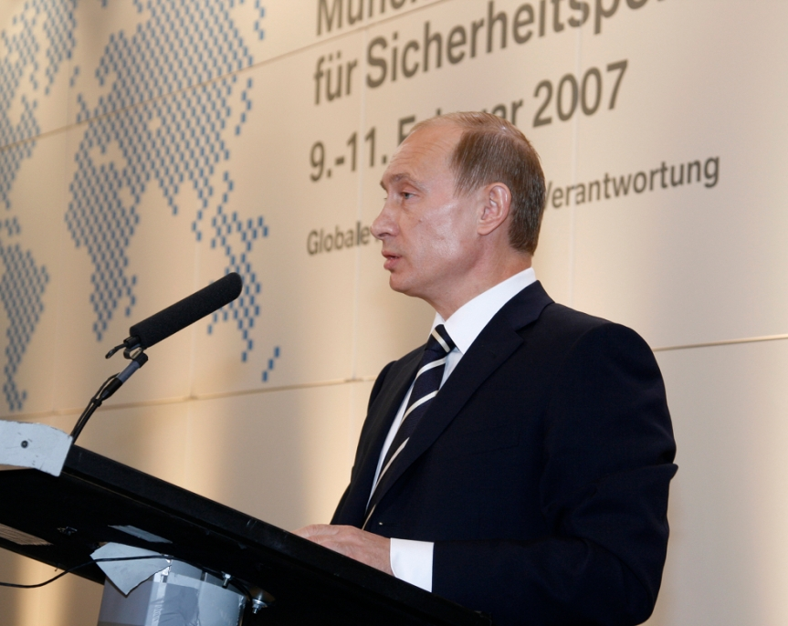 Ten years since Putin's 'Wake-Up Call' inMunich