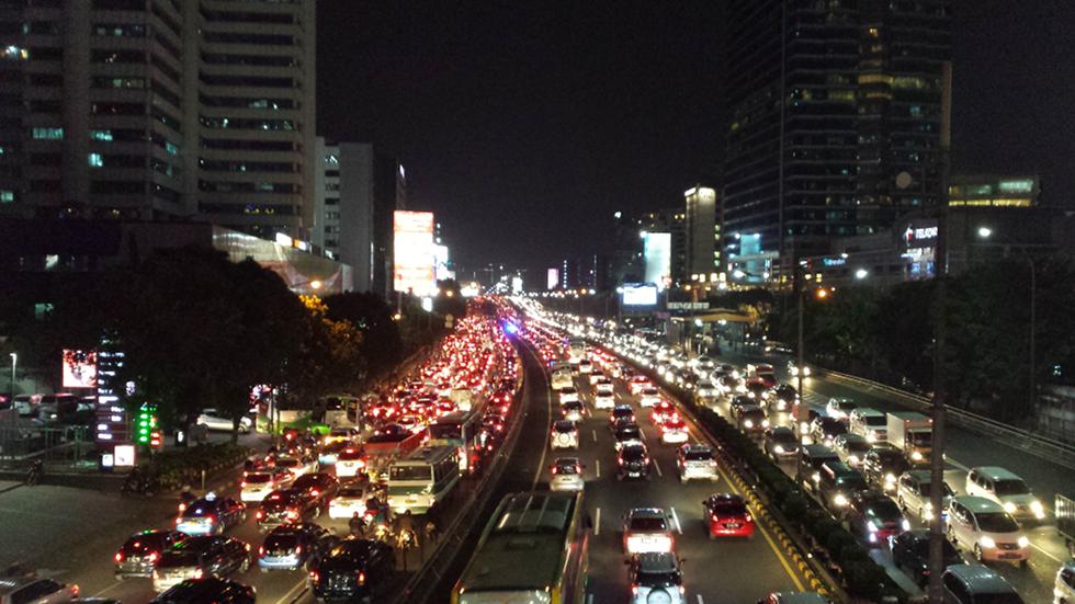 jakarta indonesia traffic - photo #19