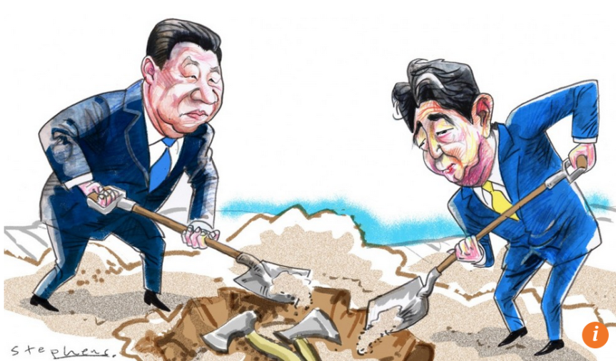 Xi Jinping and Shinzo Abe can lead the 'Asian century', if China and Japan are able to bury the past