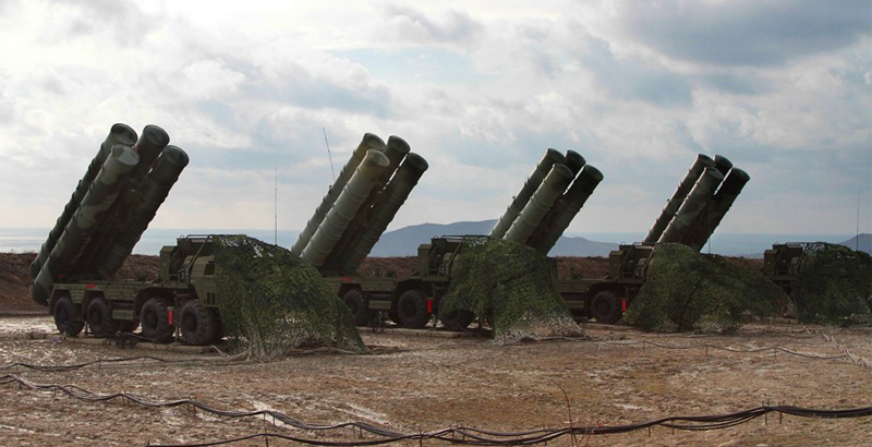 Russia's S-400 missile system: A new Middle East invasion