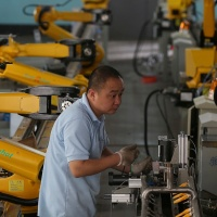 Japanese robot maker taps China's demand for automation
