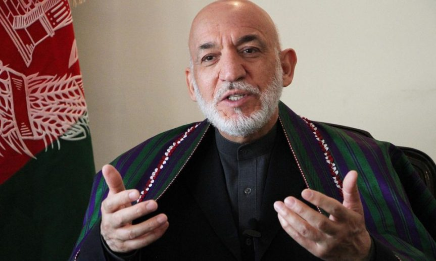 Karzai warns Afghans and neighbors to resist 'US agenda'