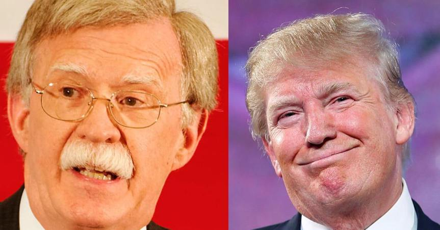 Trade and Iran: Trump/Bolton may push Europe into China's arms