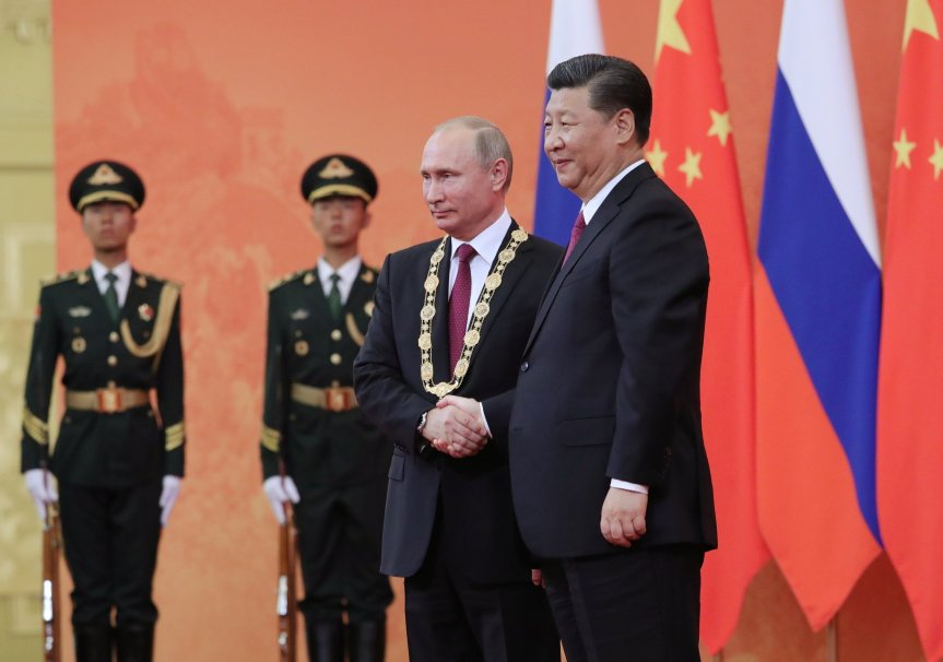 China & RussiaCooperation