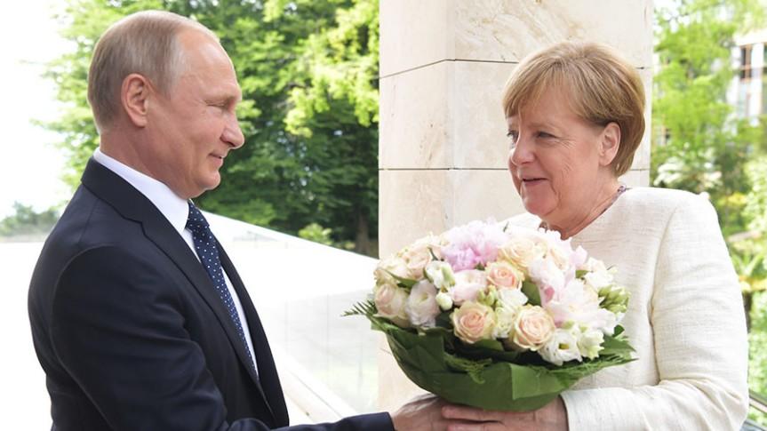 Putin's visit to Merkel makes the USnervous