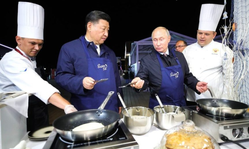 Greater Eurasia coming together in the Russian FarEast