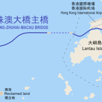 Massive trial run ahead of HK-Zhuhai-Macau Bridge opening